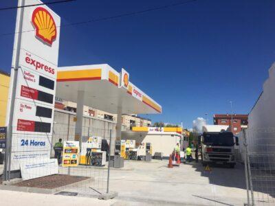 estacion servicio shell F&L