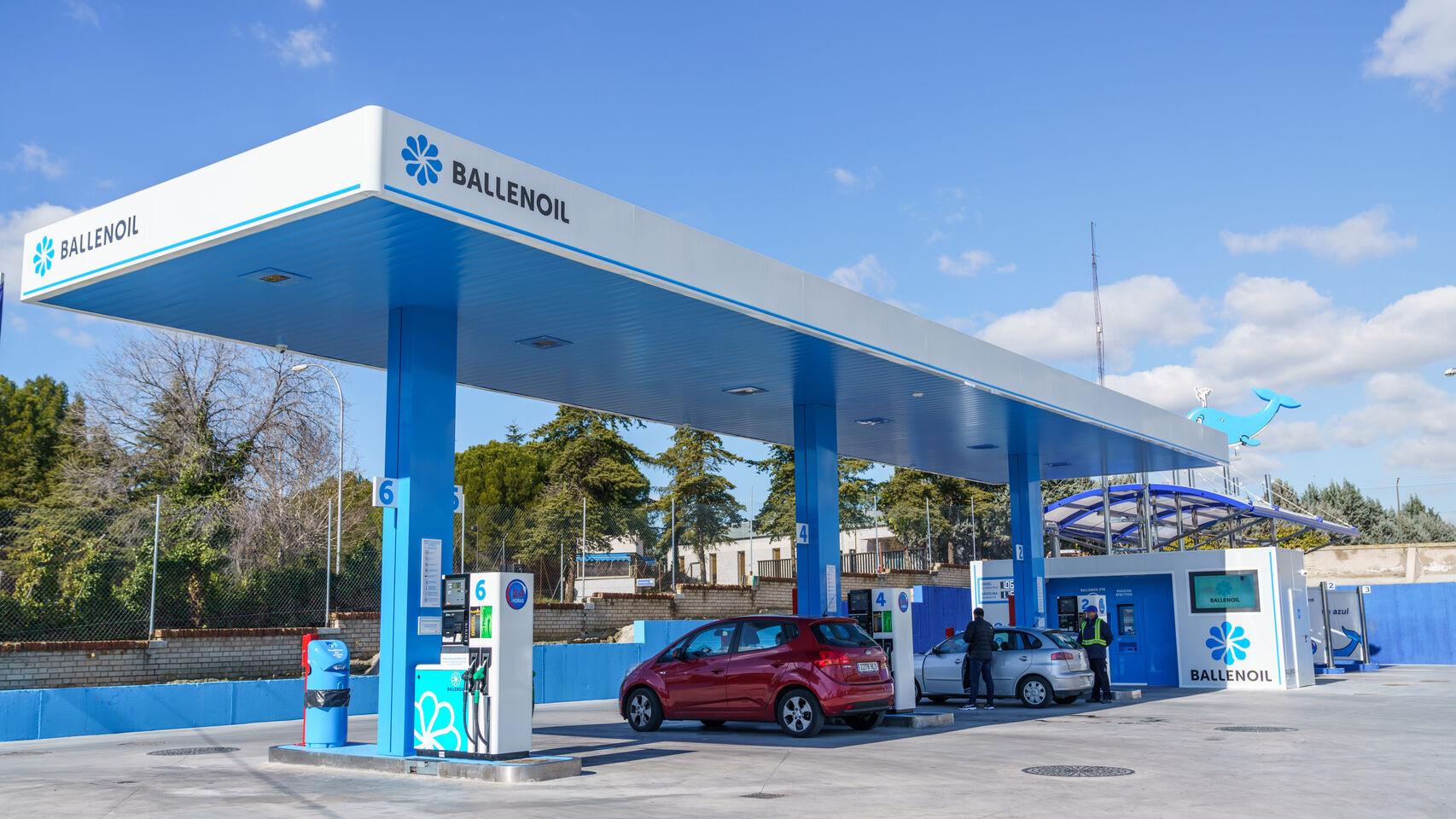 Ballenoil gasolinera