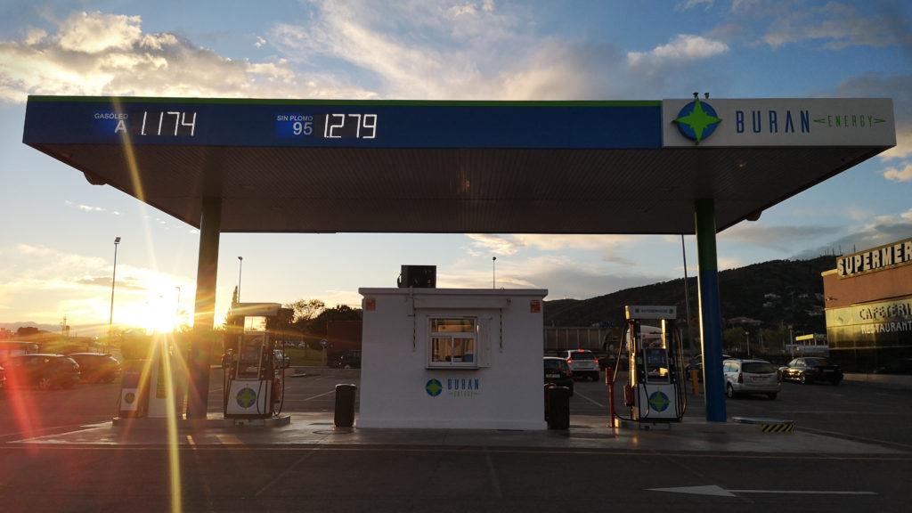 gasolinera buran energy