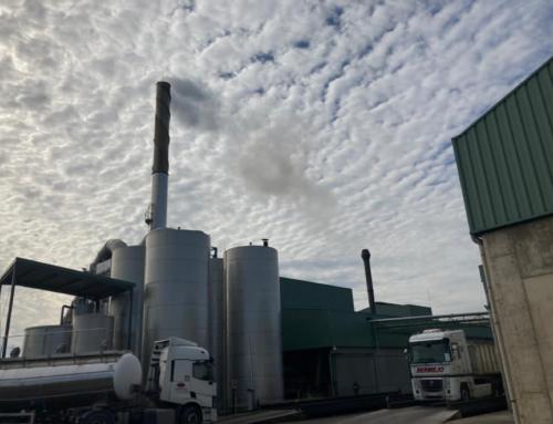 Novedoso sistema de depuración de gases en una industria de extracción de aceites vegetales.